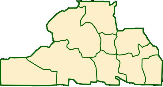 Карта Донецка
