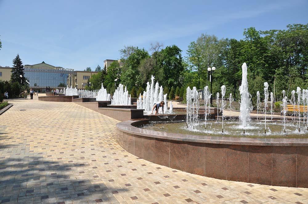 фонтаны донецка