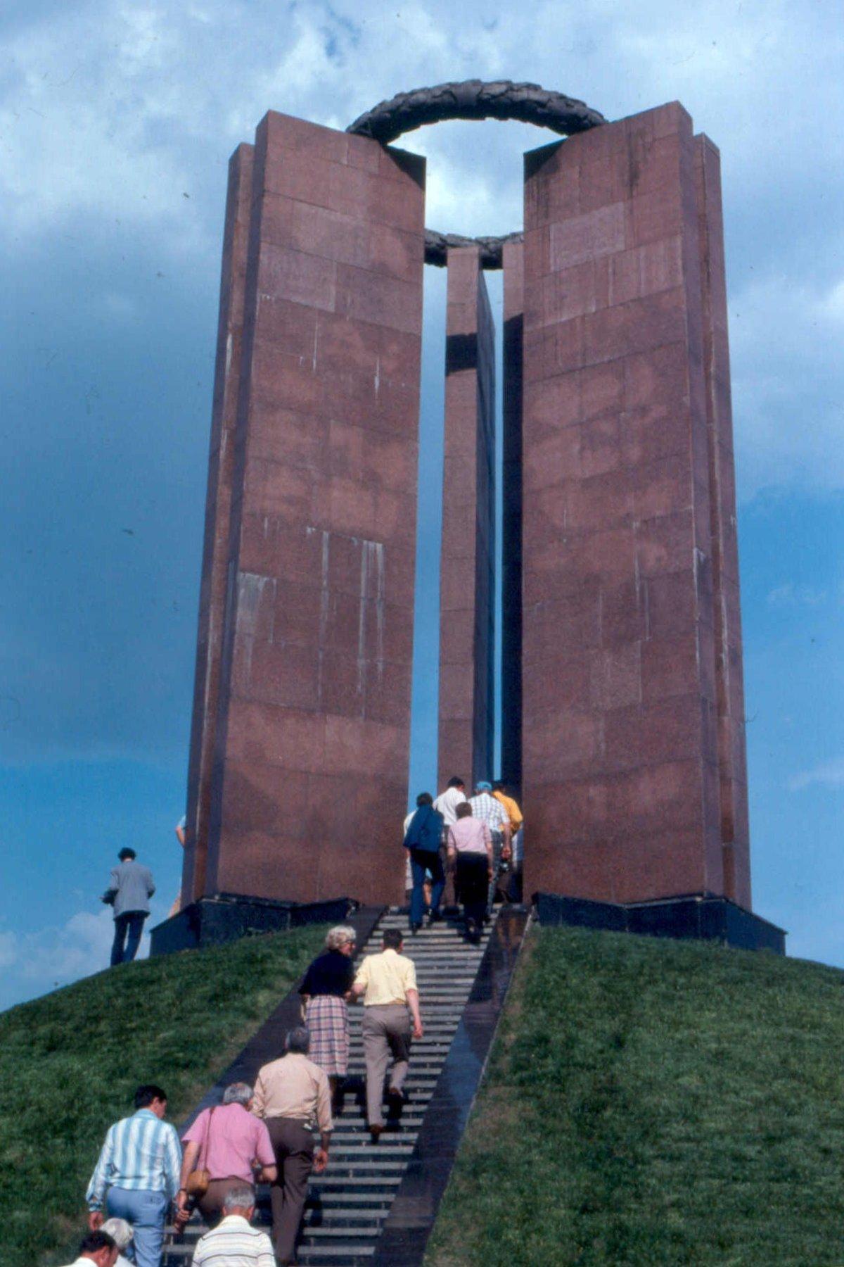 1979. Дик Сандерс в Донецке