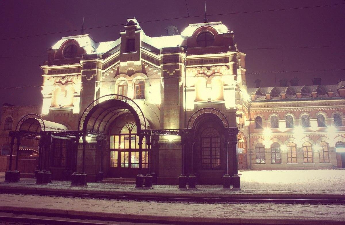 Вокзал в Дебальцево
