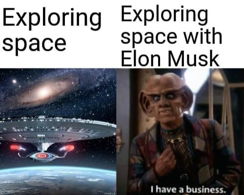 Илон Маск расправил космические плечи