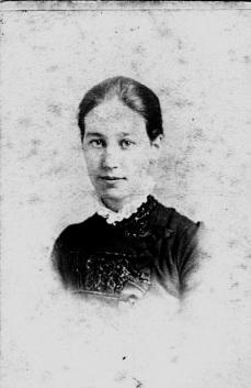 Энни Гвен в молодости
