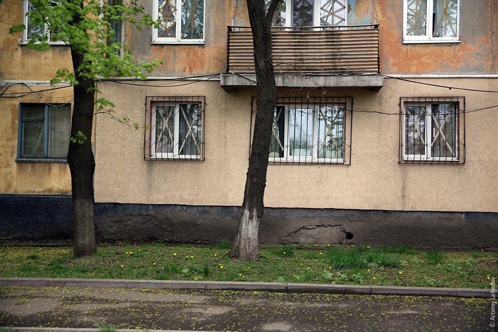 Донецк у линии фронта
