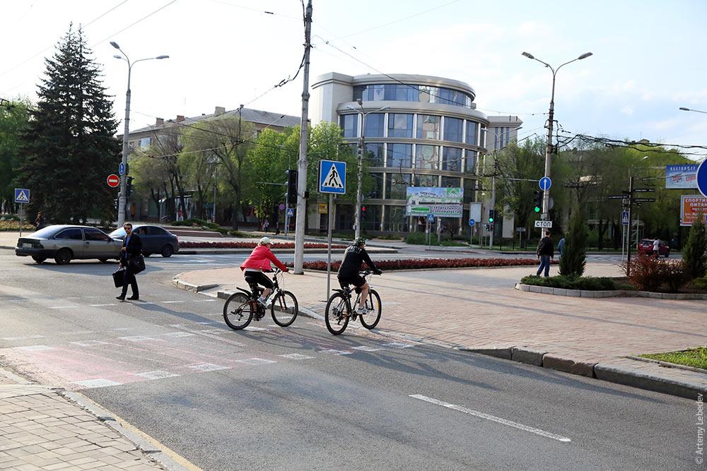 донецк велодорожки