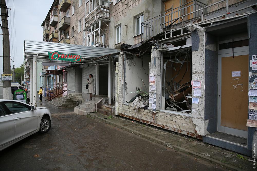 луганск прилёт
