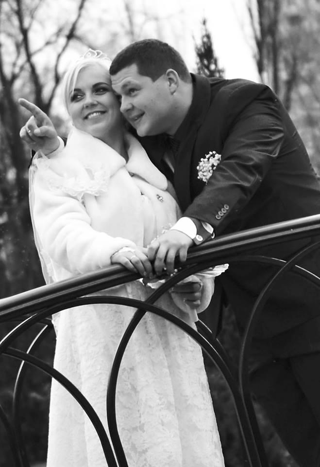 Александр Латашенко с женой Наташей