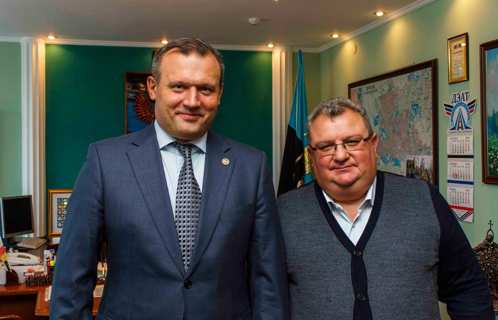 мэр Донецка