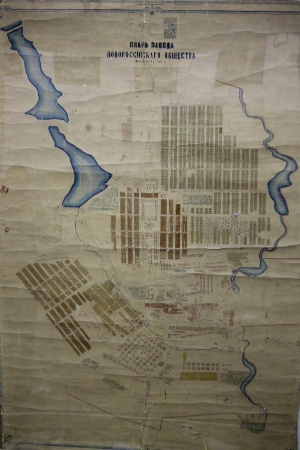 план завода 1913