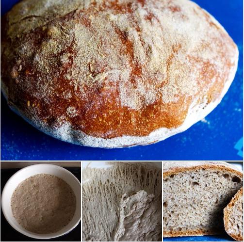 рецепт хлеб