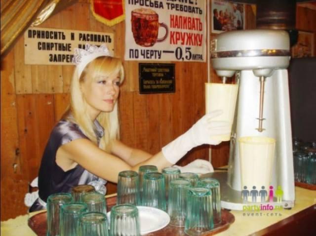 молочный коктейль СССР