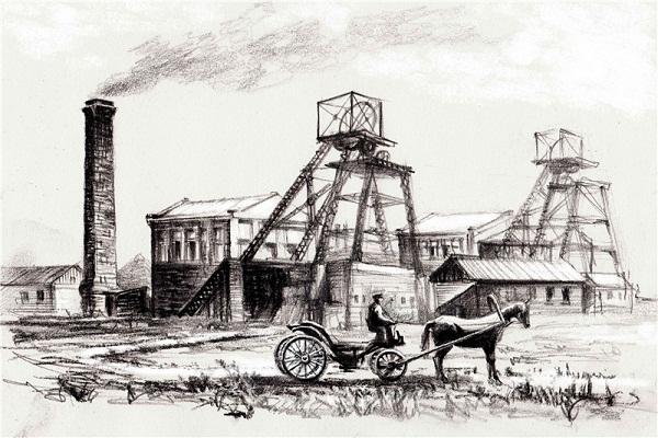 Лошадка и завод