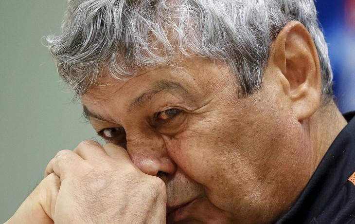главный тренер Шахтёра Мирча Луческу