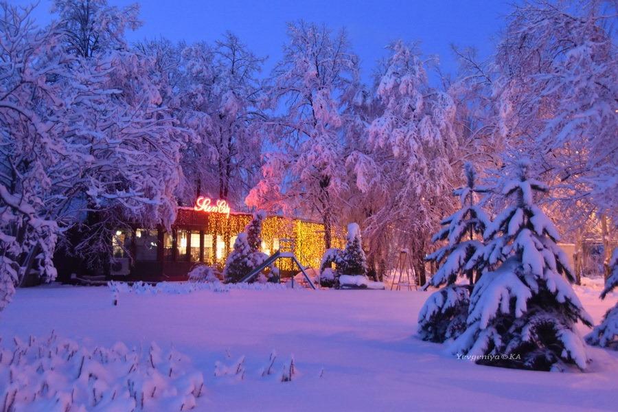 Донецкий зимний пейзаж