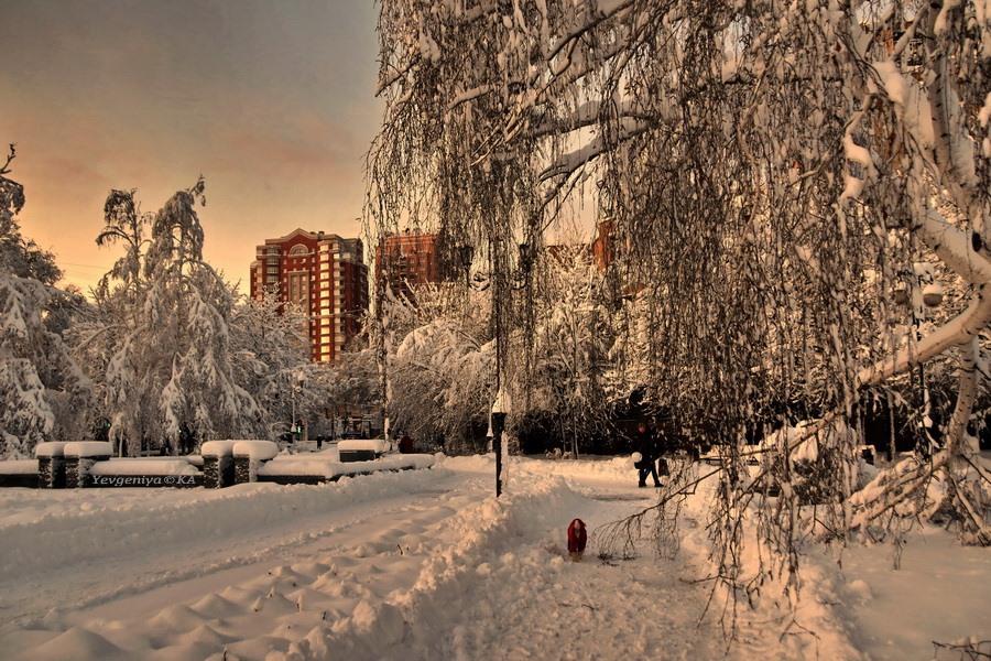 Зимний Донецк