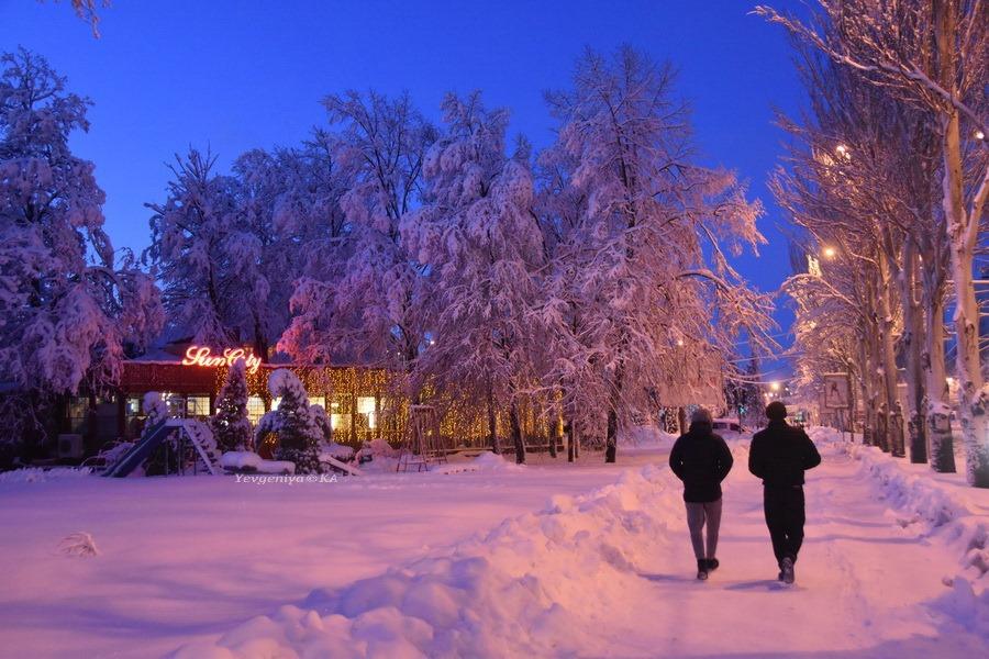 Снежный Донецк
