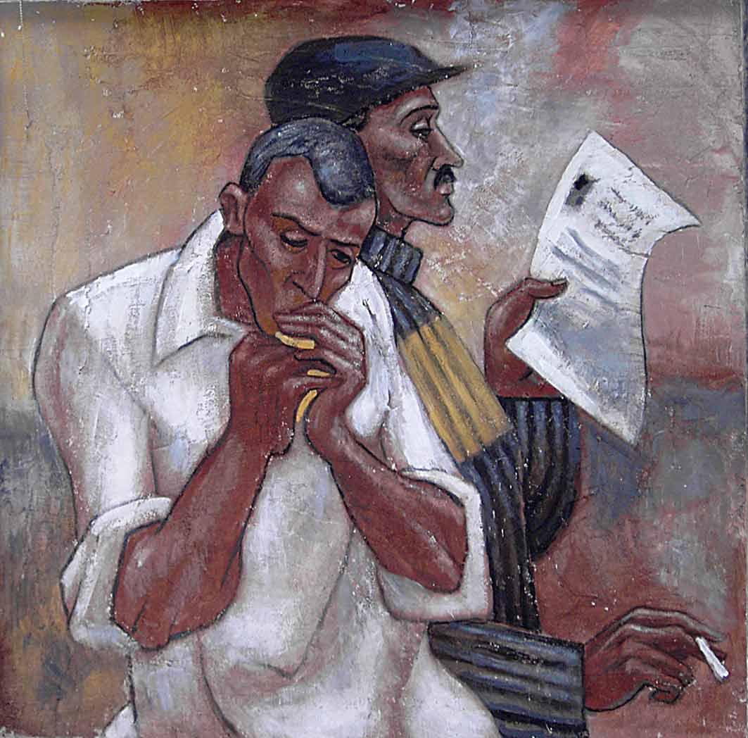 Картины Романа Минина После работы