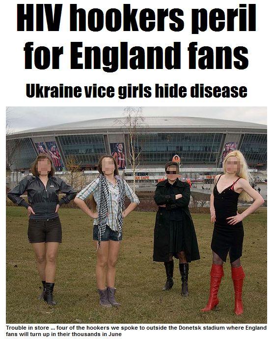 Украинские проститутки ждут англичан как манны небесной