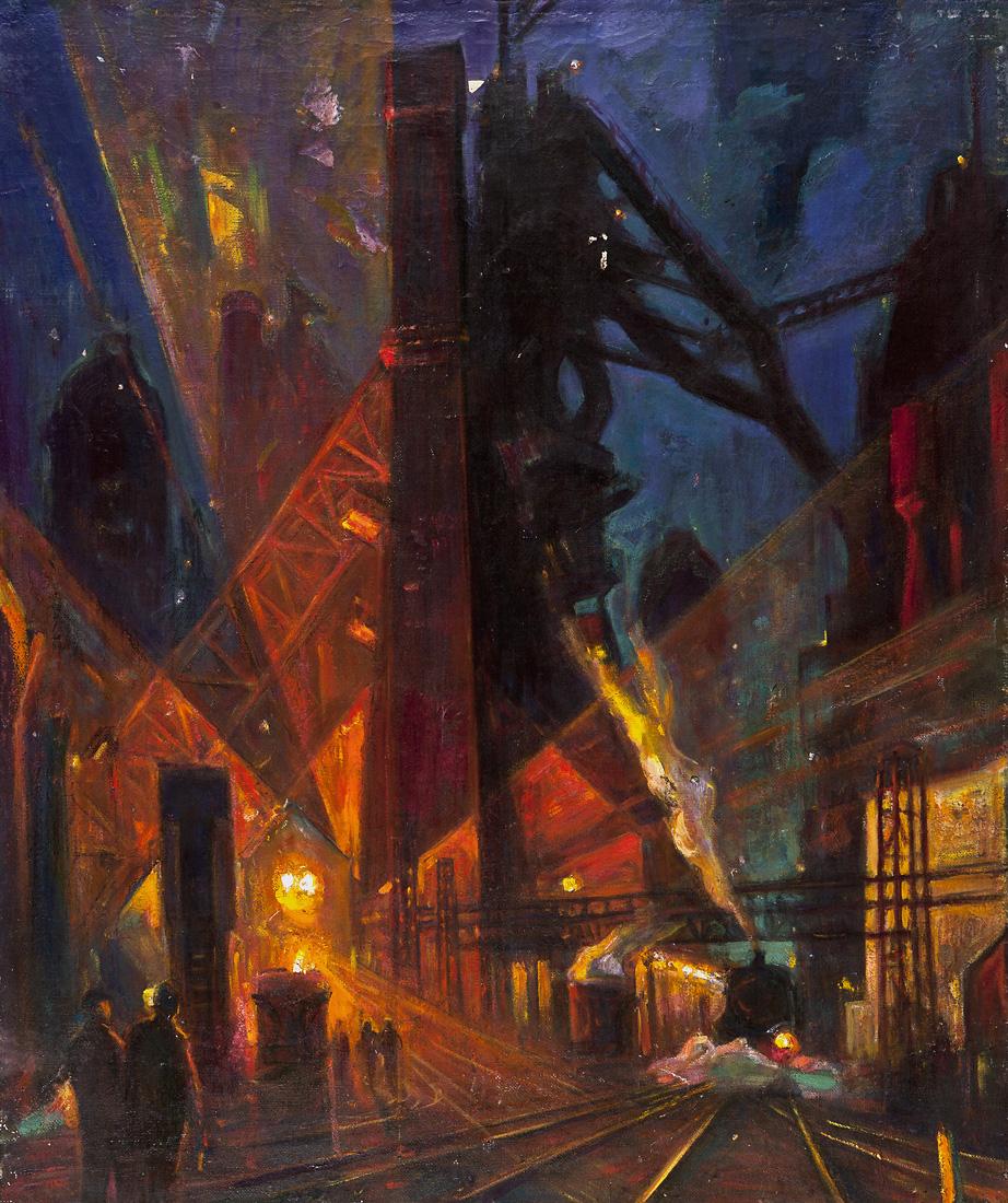 Индустриальная ночь