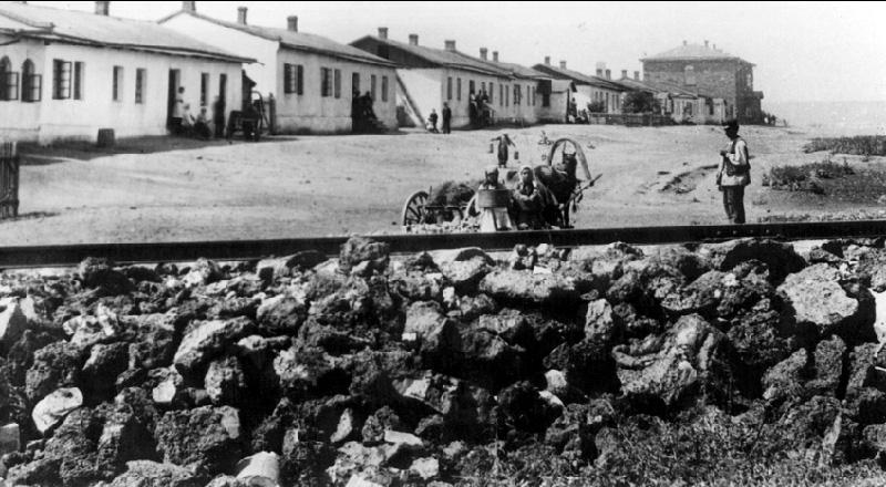 Английская колония и Рудничный двор