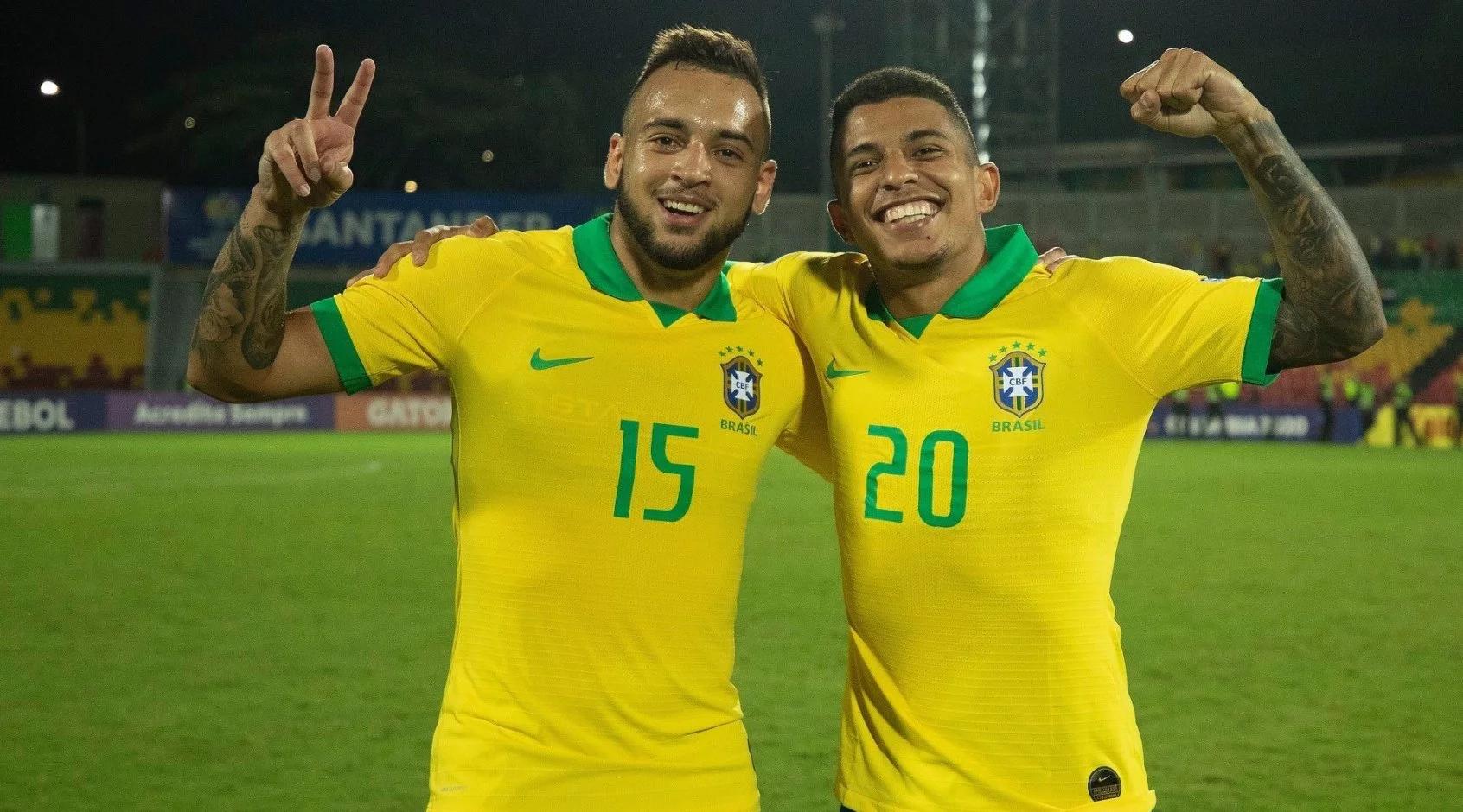 Бразильцы Додо и Майкон в сборной