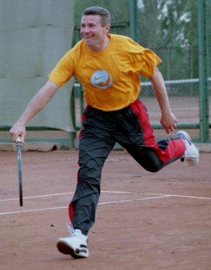 Сергей Бубка любит теннис!