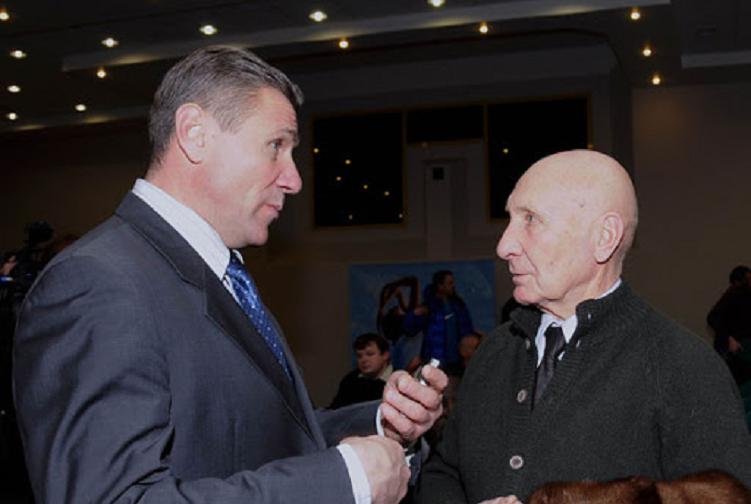 Сергей Бубка и Александр Билязе