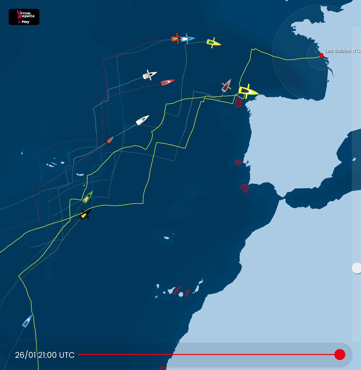 Парусная кругосветка Vendée Globe финиширует в среду вечером