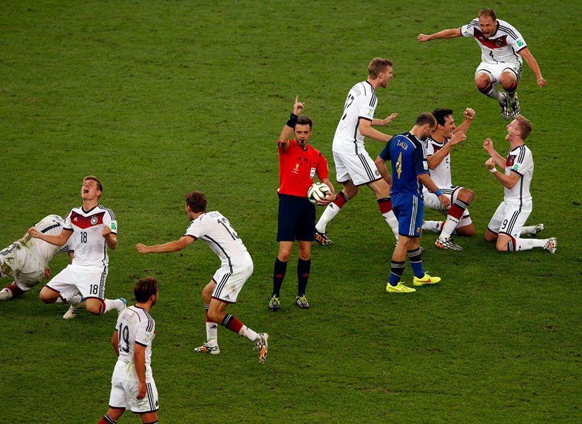 Сборная Германии выиграла кубок мира