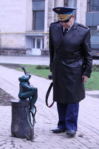 Леонов в Донецке