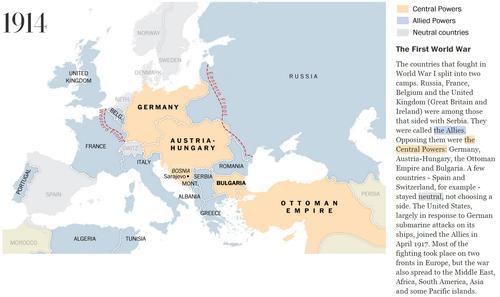 Сто лет перемен в Европе