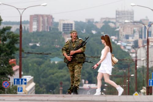 Осажденный Донецк глазами иностранных корреспондентов