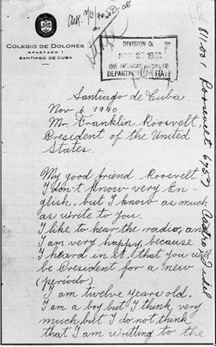 Письмо Фиделя
