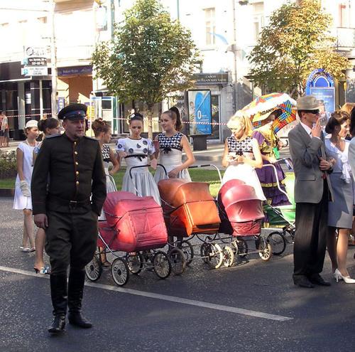 Фрагмент парада