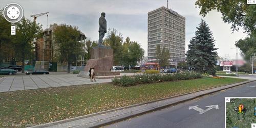 Донецк в Google View