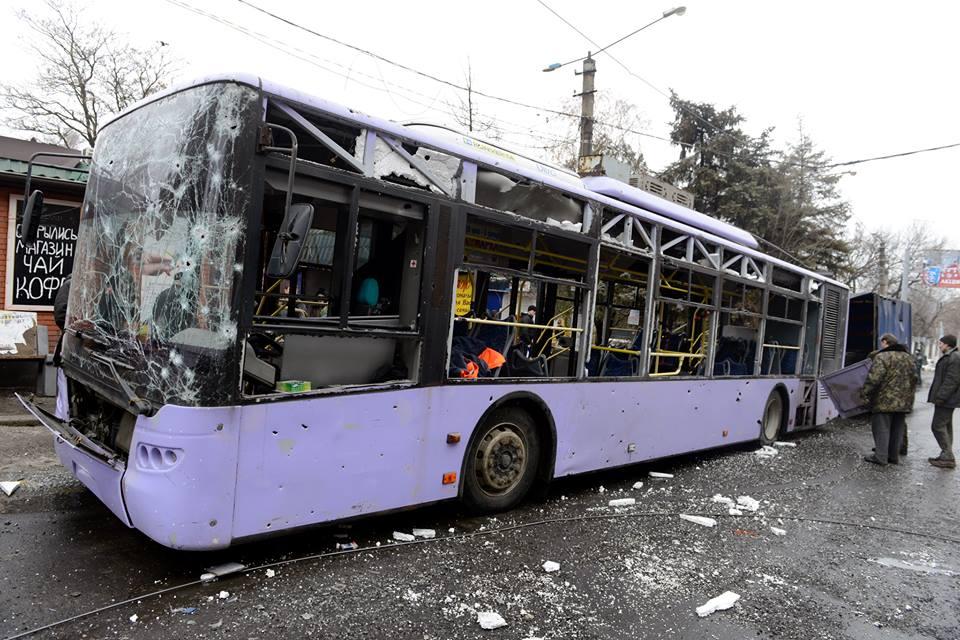 Обстрел автобуса на Боссе
