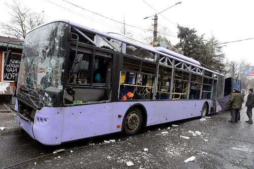 Обстрел троллейбуса на Боссе