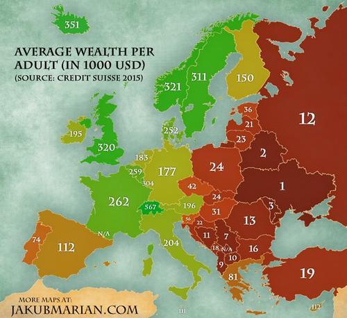 Украинцы - самые бедные в Европе