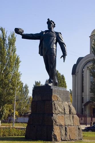 Памятник Шахтёру