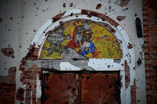 Субботник на руинах Иверского монастыря