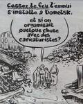 Charlie Hebdo тычет палкой в раны Донецка