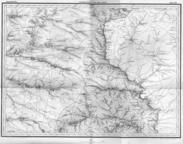 Донецкие степи на карте Шуберта