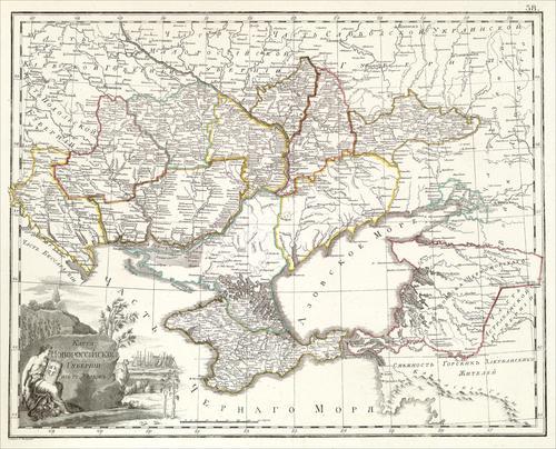 Новороссия в 1800 году