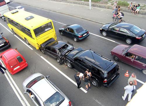 Авария у Речного Вокзала