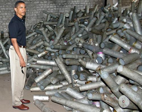 Обама в городе