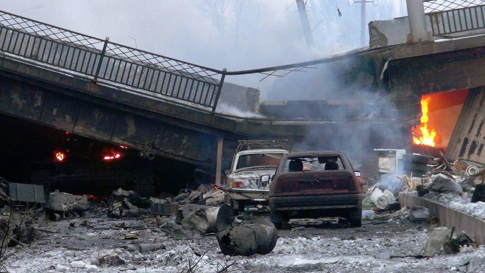 Взорван Путиловский мост