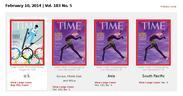 Слова и музыка обложки Time про Олимпиаду в Сочи