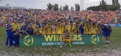 Юные украинцы - чемпионы Европы