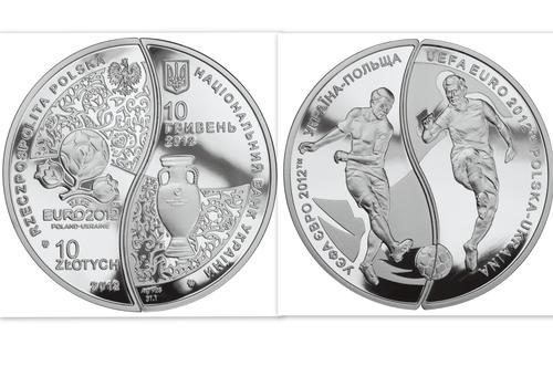 Ещё монеты к Евро 2012