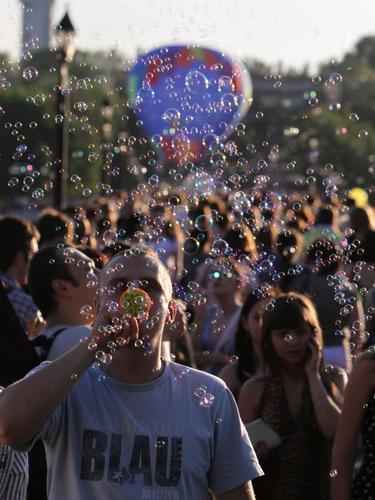 Вспомнить детство пузырями