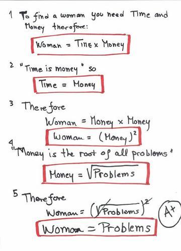 Время, женщины и деньги